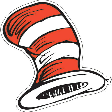 Dr. Seuss The Cat's Hat Cutouts](Dr Seuss Cat In The Hat Costume)
