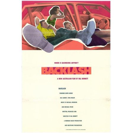 Posterazzi MOVCH5685 Backlash Movie Poster - 27 x 40 in.
