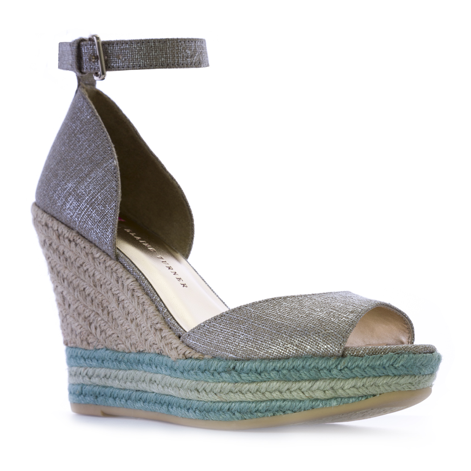 ELAINE TURNER Arial Wedge Sandals