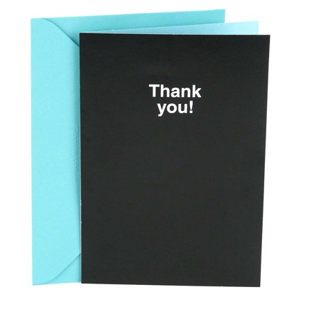 Hallmark Shoebox Funny Thank You Card (Smaller Than Appears) - Funny Halloween Cards Online