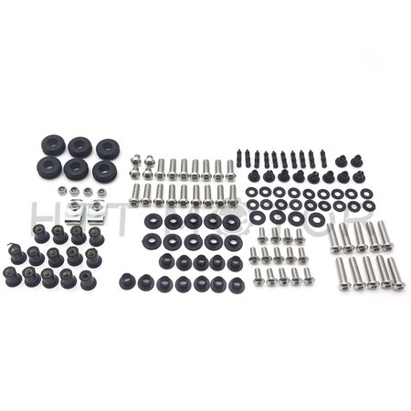 HTTMT- Complete Fairing Bolt Kit Body Screws Set For Honda