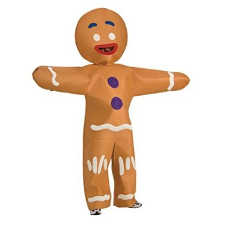 Mens Gingerbread Man Costume - Gingerbread Man Adult Costume