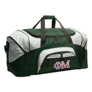 Phi Mu Duffel Bag or Phi Mu Sorority Gym Bag