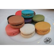 Sweet Food Delicious Macarons French Meringue-20 Inch By 30 Inch Laminated Poster With Bright Colors And Vivid Imagery-Fits Perfectly In Many Attractive Frames