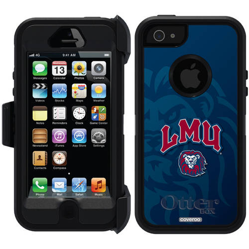 Loyola Marymount Watermark Design on OtterBox Defender Series Case for Apple iPhone 5/5s