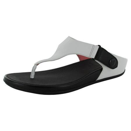 35671682e8e1 Fitflop - Fitflop Womens Gladdie Toe Post Slide Sandal Shoes - Walmart.com