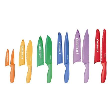 Cuisinart Advantage Non-Stick Color Cutlery 12pc Set - C55-01-12PCKS