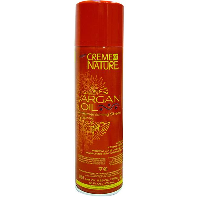 DDI Creme Of Nature Argan Oil Replenishing Sheen Spray- Case of 12