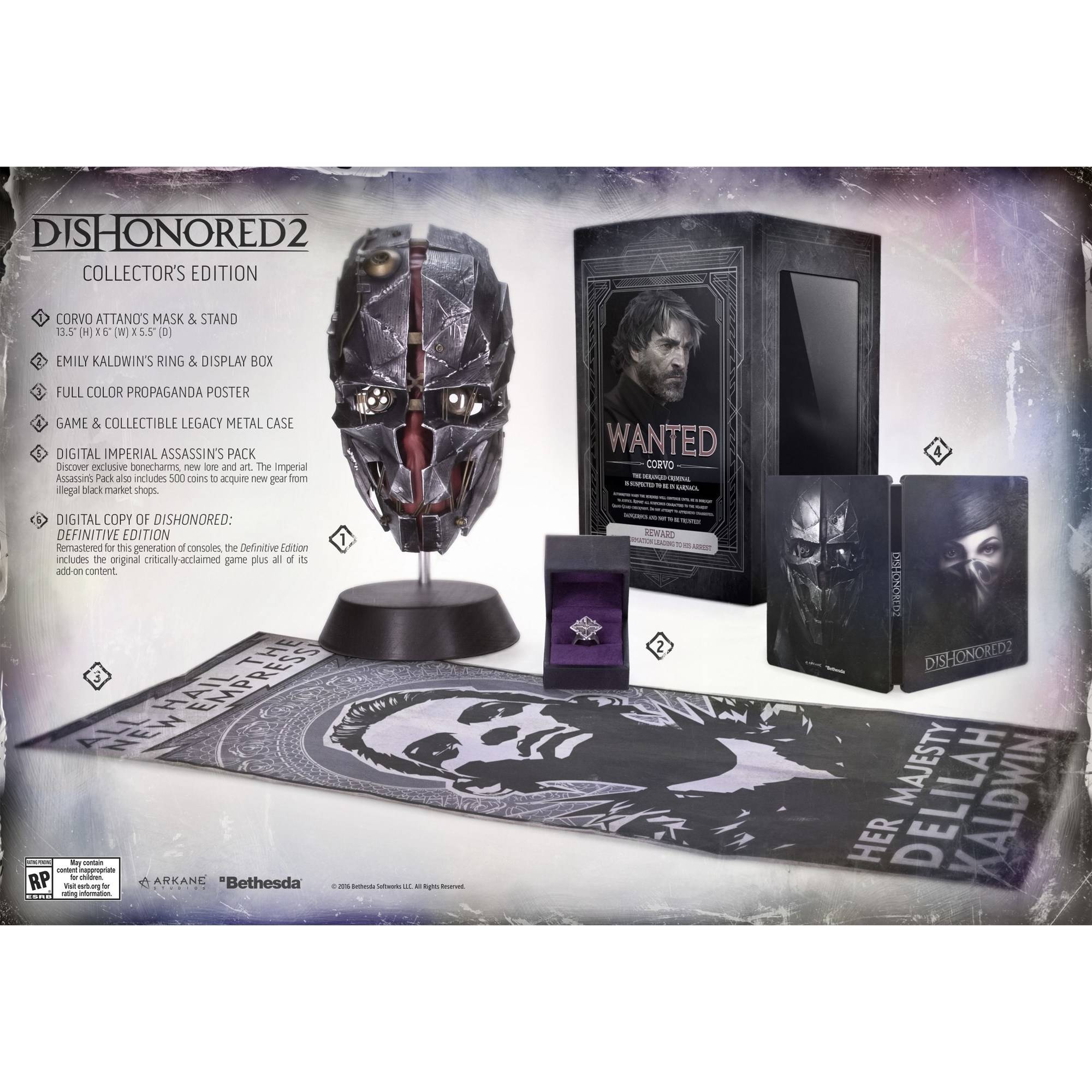 Dishonored 2 Collector's Edition (PS4)