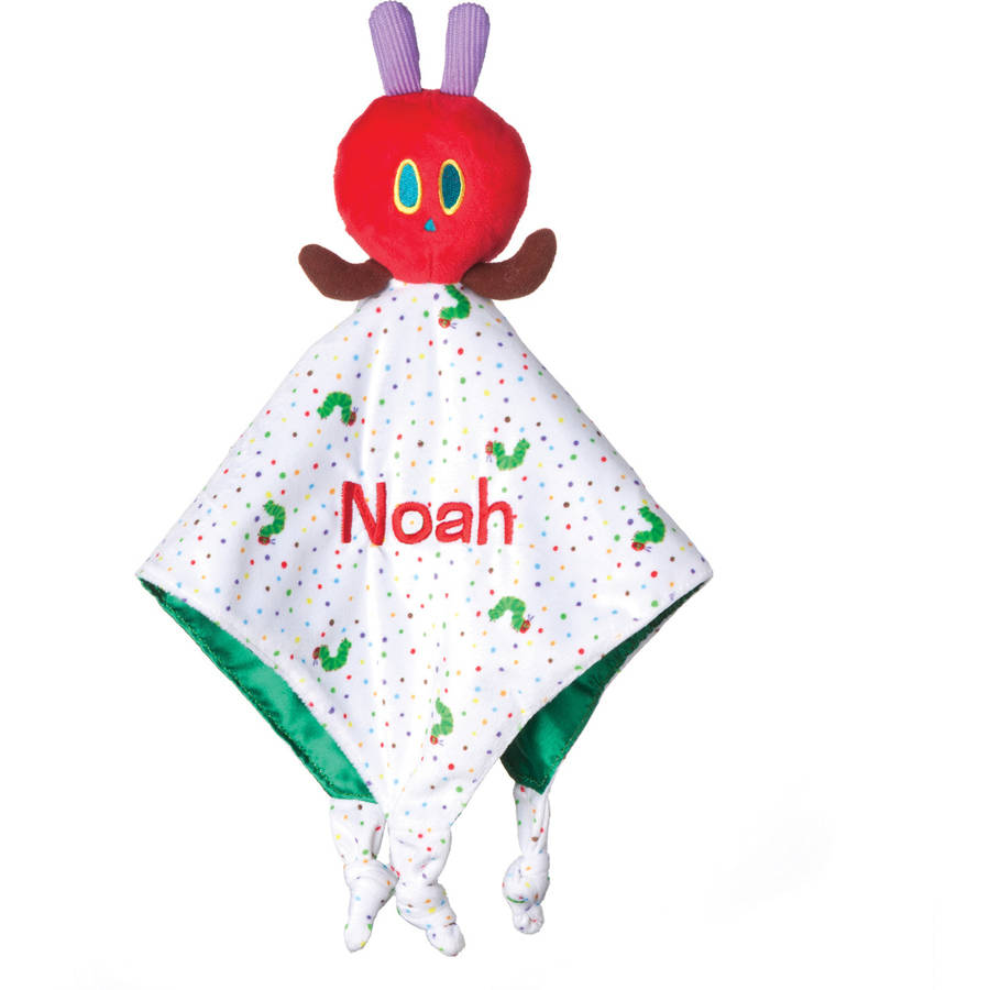 Personalized Very Hungry Caterpillar Blankey