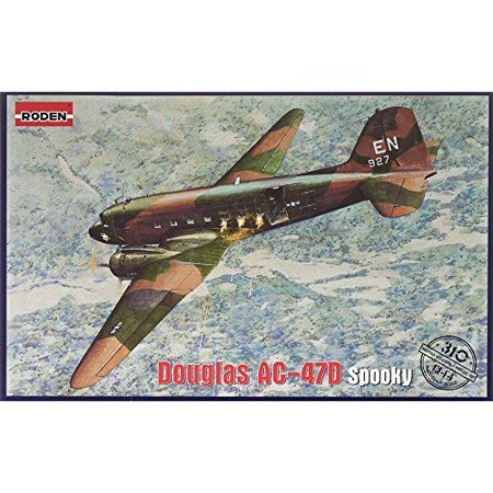RODEN 310 1/144 AC47D Spooky US Ground Attack (Best Ground Attack Aircraft)