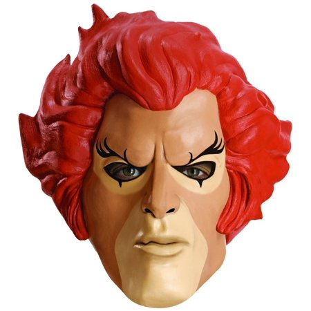 Thundercats Lion-O Overhead Latex Adult Costume Mask - Thundercat Halloween