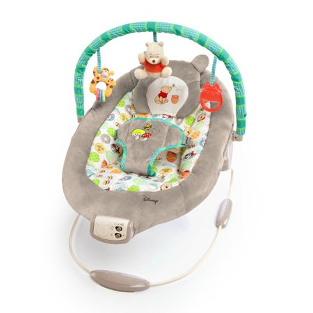 Bright Starts Disney Baby Bouncer Seat - Winnie the Pooh Dots & Hunny Pots (Baby Seats & Bouncers)