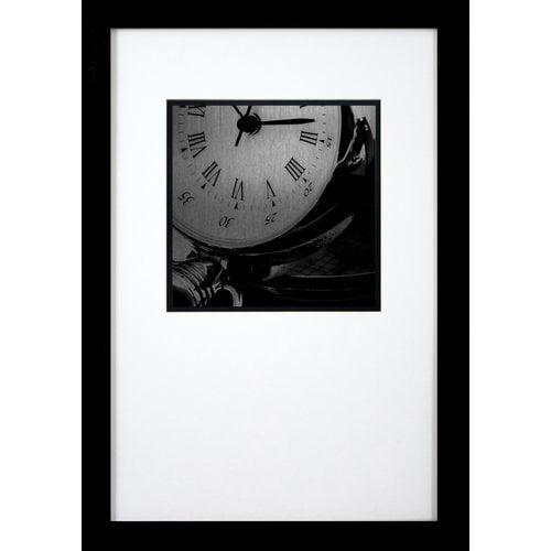 PTM Clock Framed Photographic Print