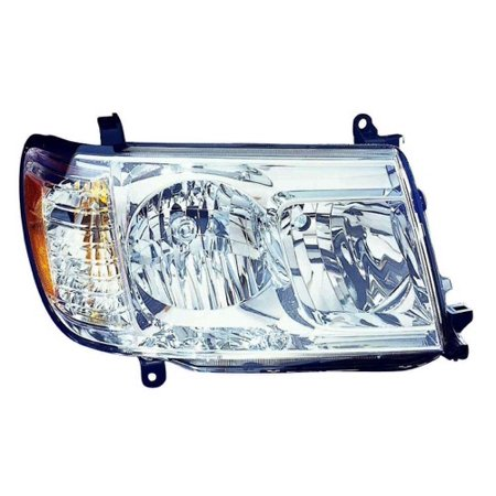 Go-Parts » 2006 - 2007 Toyota Land Cruiser Front Headlight Headlamp Assembly Front Housing / Lens / Cover - Right (Passenger) Side 81130-60B21 TO2519109 Replacement For Toyota Land Cruiser