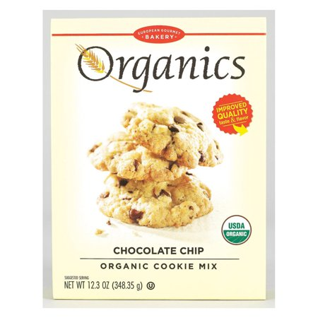 European Gourmet Bakery Organic Chocolate Chip Cookie Mix - Chocolate Chip - Pack of 12 - 12.3