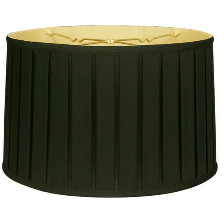 Royal designs 18 shallow drum english box pleat lamp shade black royal designs 18 shallow drum english box pleat lamp shade black aloadofball Gallery