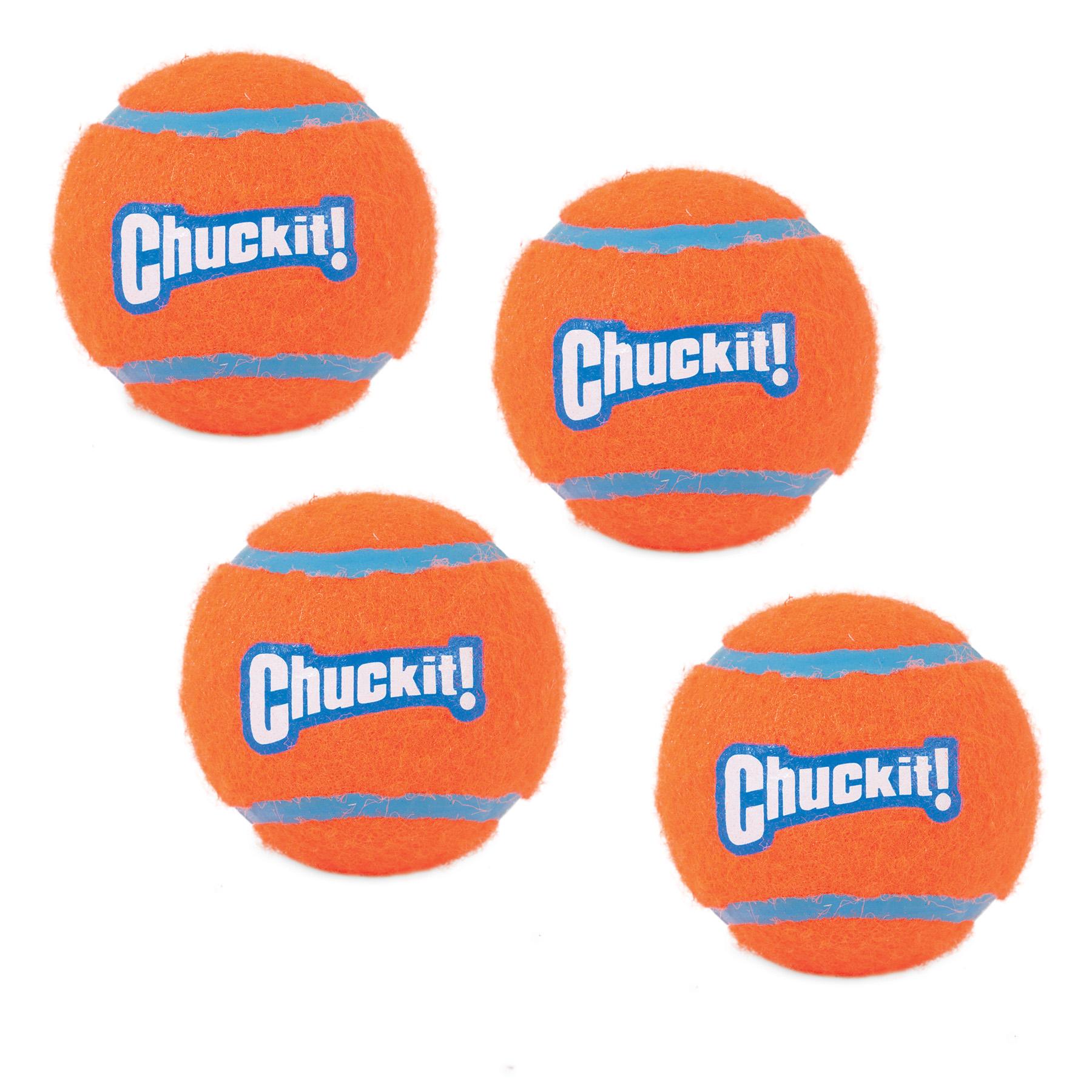 Chuckit! Tennis Ball, 4-Pk Medium