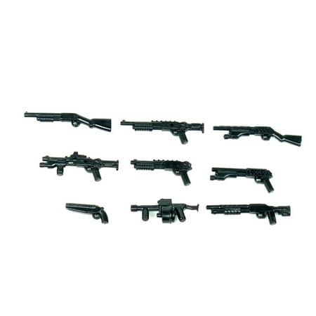 Custom 12 Gauge Shotgun Pack Designed for Brick Minifigures](Toy Shotgun)