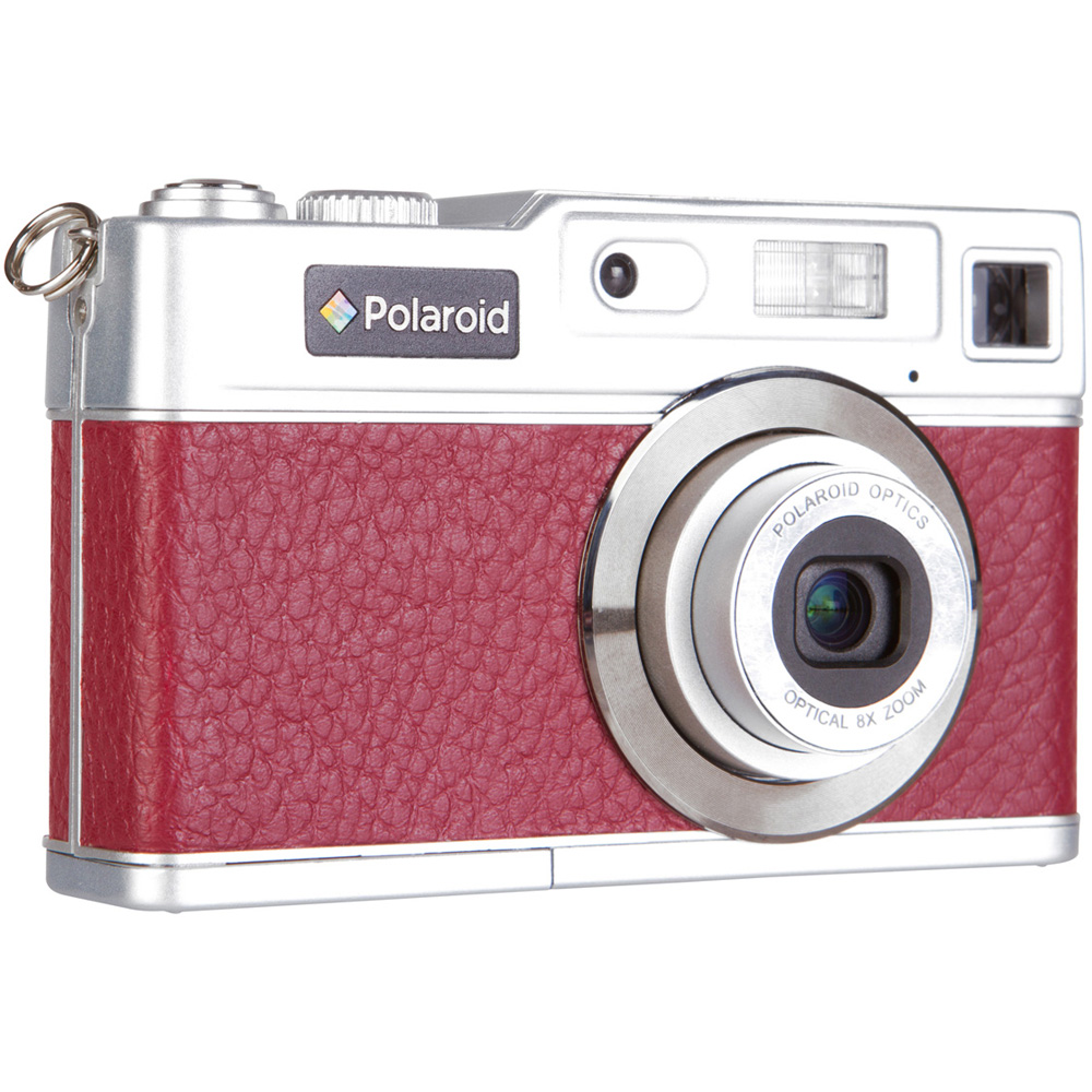 "Polaroid Retro 18MP with 2.4"" Preview Screen Red"