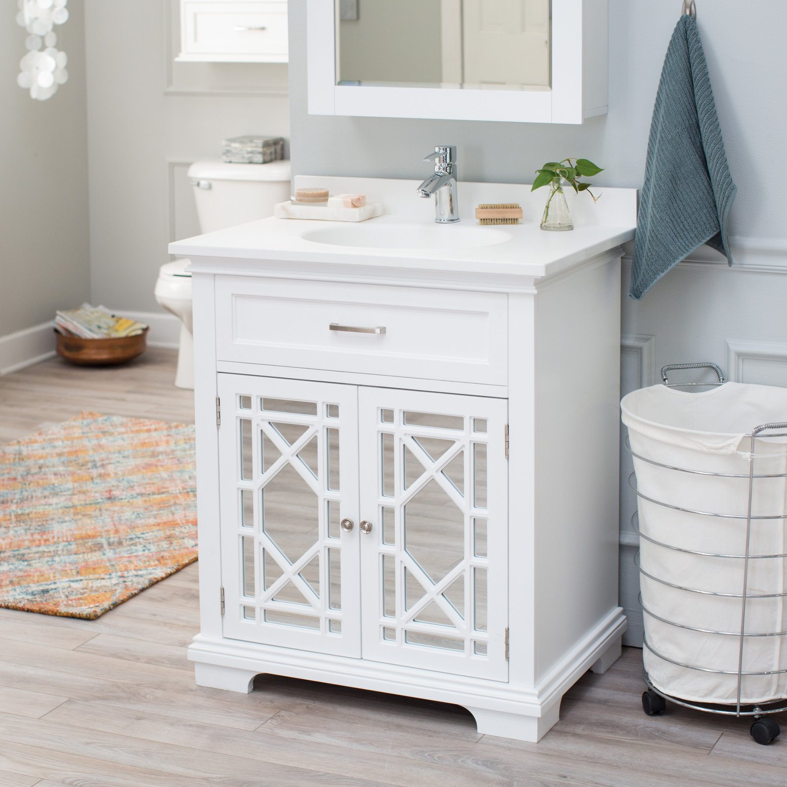 Belham Living Florence Bath Vanity with Optional Sink and Faucet