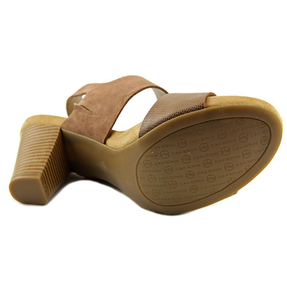Giani Bernini Aikko   Open Toe Suede  Sandals