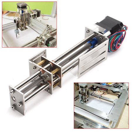 Mini CNC Z Axis Slide 150MM DIY Linear Stepper Motor Drive Screw Motion  Milling 3 Axis Engraving Machine