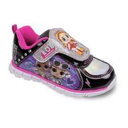 LOL Surprise Shoes - Girls Light Up Purple & Black Sneakers