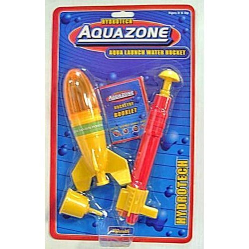 Toysmith Kids Aqua Launch Water Powered Space Rocket by Toysmith
