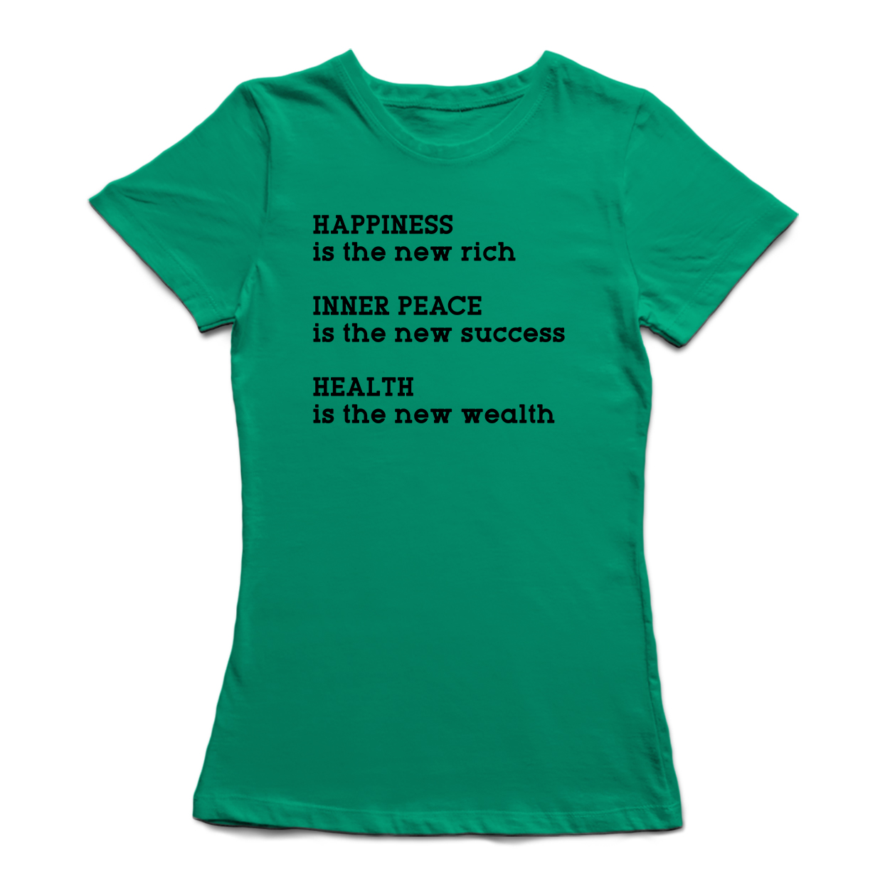 Happiness Is The New Rich Inner Peace The New Success Quote