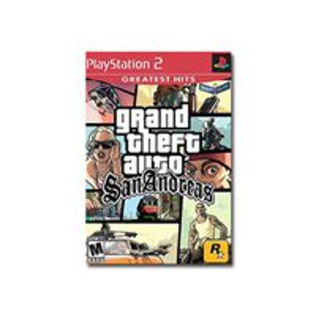 Grand Theft Auto San Andreas - Greatest Hits - PlayStation 2 - Yoshi's Halloween Party San Francisco