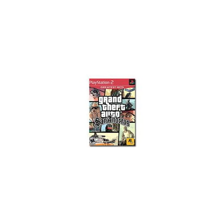 Grand Theft Auto San Andreas - Greatest Hits - PlayStation 2 (Grand Theft Auto 5 Minecraft)