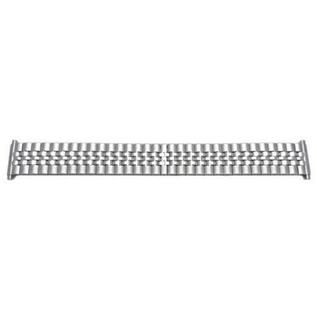 Brushed And Polished Stainless Steel 18mm-22mm Expansion Watch Band