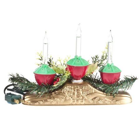 Bubble Light Centerpiece, 3 Bulbs - Centerpieces With Lights