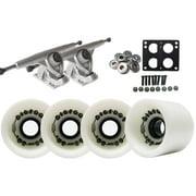 Randal 180 LONGBOARD TRUCKS 68mm BIGFOOT WHITE Wheels