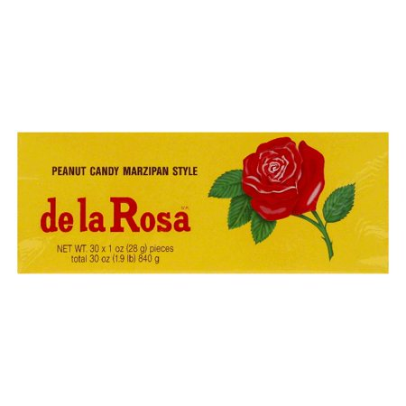 De La Rosa Marzipan - De La Rosa Peanut Mazapan, 30 OZ