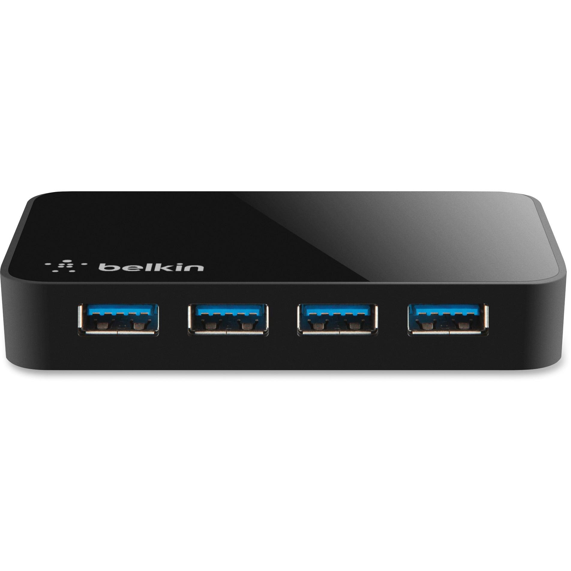 Belkin, BLKF4U058TT, SuperSpeed USB 3.0 4-port Hub, 1 by Belkin