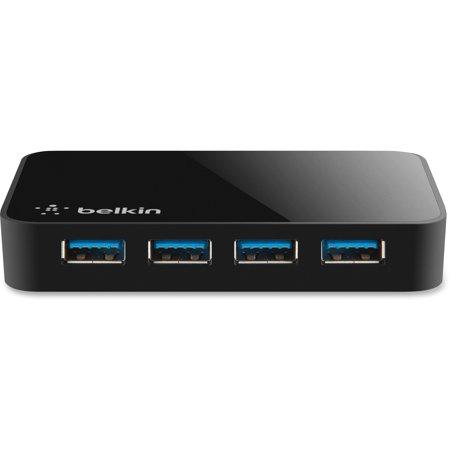 Belkin, BLKF4U058TT, SuperSpeed USB 3.0 4-port Hub, 1 (Belkin Blue Hub)