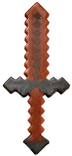 Minecraft Wood Sword Accessory by