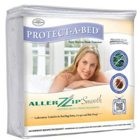Protect A Bed Allerzip Smooth Allergy Bug Mattress Encasement Protector King 6