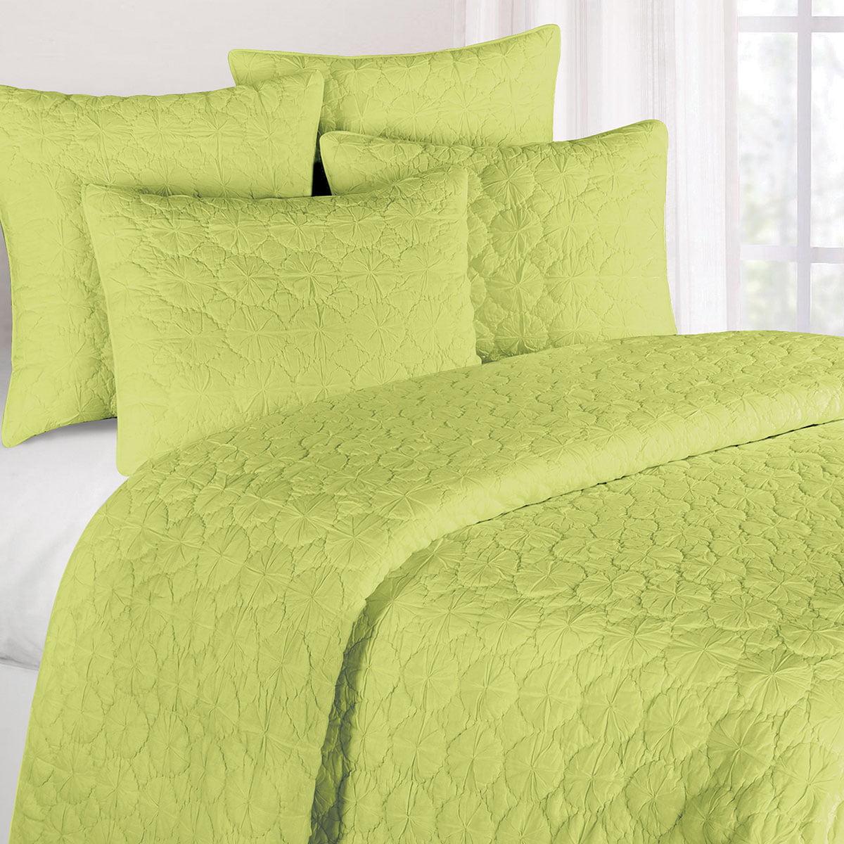 Green Mara Full/Queen Quilt