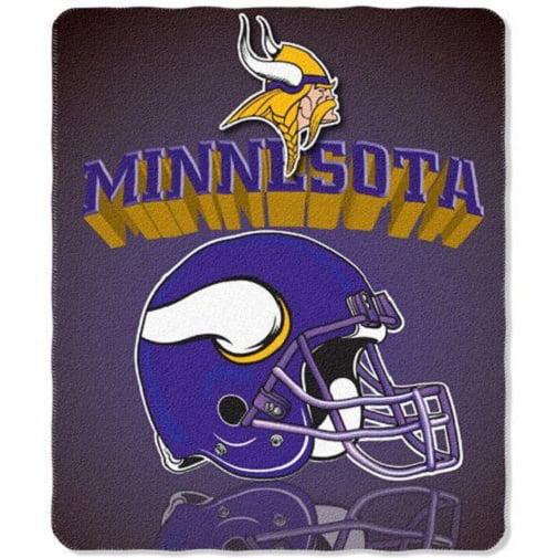 "Minnesota Vikings NFL Northwest ""Mirror"" Fleece Throw"