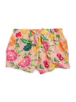 Little Girl's Printed Shorts