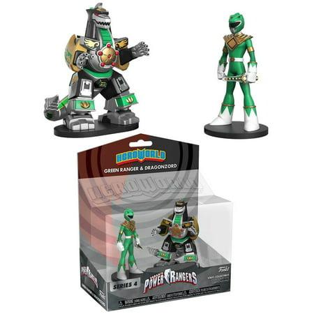 Funko Power Rangers Series 4 Green Ranger & Dragon Zord Vinyl Figure - Green Rpm Ranger