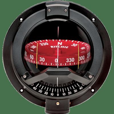 RITCHIE COMPASSES BN-202 Compass, Bulkhead, 4.5