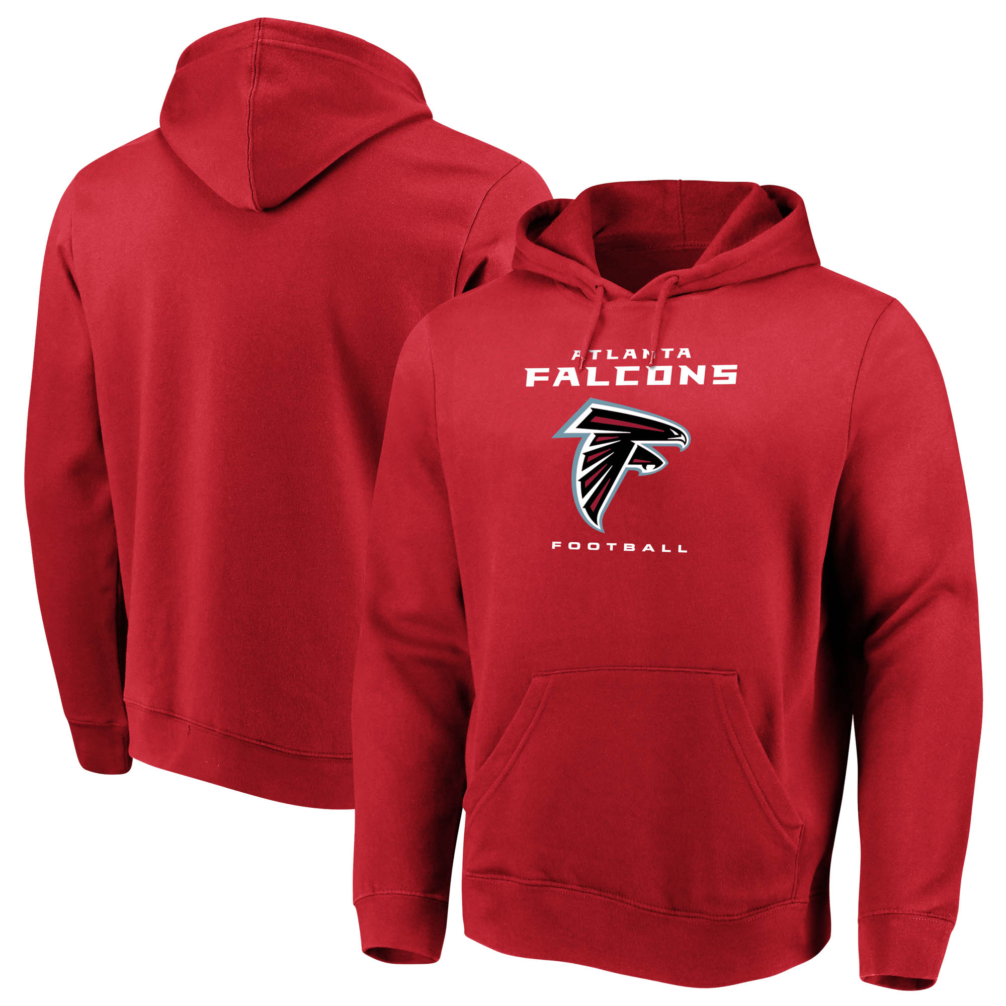 Men's Majestic Red Atlanta Falcons Our Team Pullover Hoodie