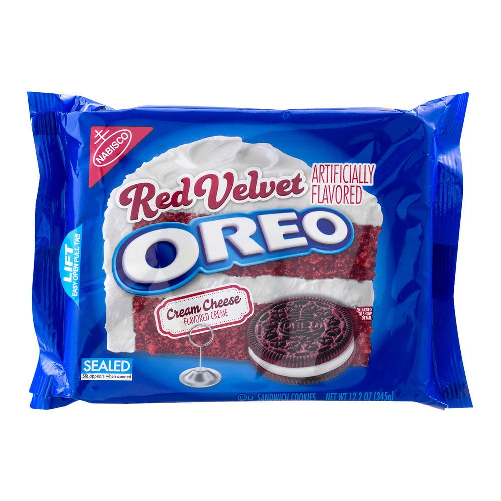Oreo Red Velvet Sandwich Cookies - 12.2oz