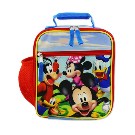 Disney Lunch Box - Disney Mickey Mouse Clubhouse Boys Girls Toddler School Lunch Box B19DC43140
