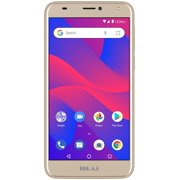 BLU C6 C031P Unlocked GSM Dual-SIM Android Phone w/ Dual 8MP2MP Camera - Gold