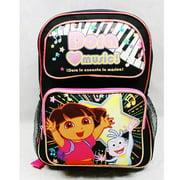 Medium Backpack - Dora the Explorer - Love Music New School Bag de21474
